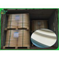 Quality Food Grade FDA 60gsm 120gsm 600mm 620mm White Straw Paper Roll For Straws wholesale