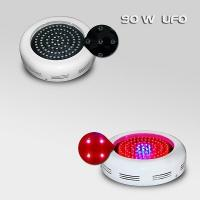 China Indoor 90w 2700lm UFO LED Plant Grow Lights , 90 * 1W Flower / Vegetable Grow Lamp on sale