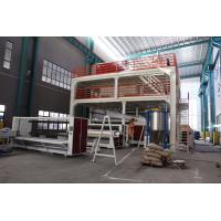 China 4200mm Wide PP Non Woven Fabric Machine , PP Spunbond Non Woven Production Line on sale