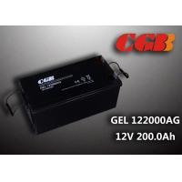 Quality Reliable safe 200AH GEL Series 12V Lead Acid Battery Rechargeable No leaking wholesale