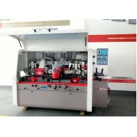 Buy cheap High Efficiency 5 Head Moulder Woodworking Equipment Vibration Reduction from wholesalers