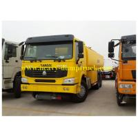 Buy cheap 290hp HOWO Oil Tank Truck  20 CBM fuel tanker with 6x4 drive chassis right hand drive optional product