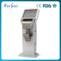 Quality Touch screen rapid 3d 19 inch screen facial digital skin moisture analyzer for beauty salon use wholesale
