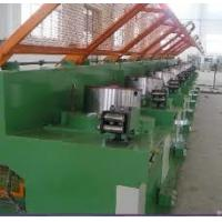 Quality Medium Carbon Steel Wire Drawing Machine , Industrial Iron Wire Manufacturing Machine wholesale