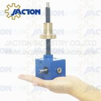 Buy cheap Varity ratio ball roller electric screw jack SWL Series elevator gearbox gear SWL series Lifting Jack Liftng Platform from wholesalers