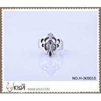 Cheap A unique design 9# / 2.22cm / 11.7g 316l stainless steel ring H-JK0015 for sale