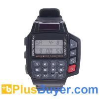 China Multi-Function Remote Control Digital Calculator Wrist Watch on sale