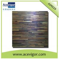Quality Antique wood wall mosaic panel wood wall mosaic tiles wholesale