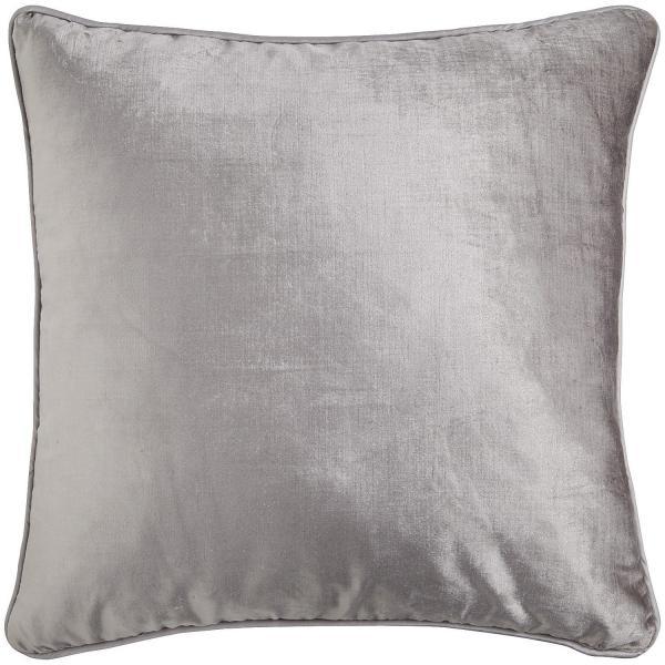 Cheap cozy square grey plain throw pillows for couch for Cheap gray throw pillows