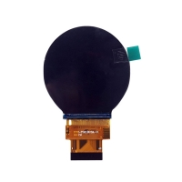 China Small 262K Color RGB 18Bit Interface Round Lcd Display on sale