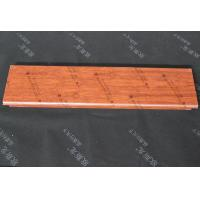 China Fireproof Decorative Wood Ceiling Panels Aluminum Alloy Roller Coating on sale