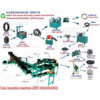 Quality Waste Tire Recycling Plant wholesale