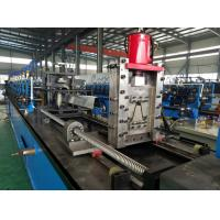Buy cheap High Speed Omega C Z Purlin Roll Forming Machine Drive by Chain 40-50m/min product