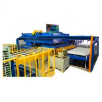 China Fireproof MGO Board Production Line WPC Board Machine Low Energy Consumption on sale