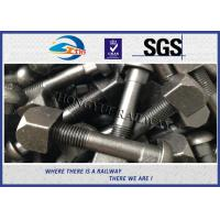 Buy cheap Railway Track Fish Screw Bolt Railway Track Fittings For Fasten Rail Joints from wholesalers
