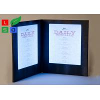 China Customized Made LED Shop Display Stain Resistant For Restaurant Menu Display for sale