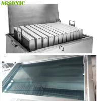 Quality Commercial Stainless Steel Soak Tank For Pizza Pan And Oven Pan Degreasing wholesale