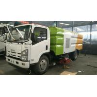 China 6mt Road Cleaning Vaccum Isuzu Sweeper Truck High Efficiency Sweeping on sale