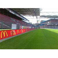 China Pixel 12.5mm Football Perimeter Advertising LED Display Boards on sale