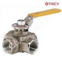 Quality Stainless Ball Valve, CF8, NPT, DN25, CL600 TECV wholesale