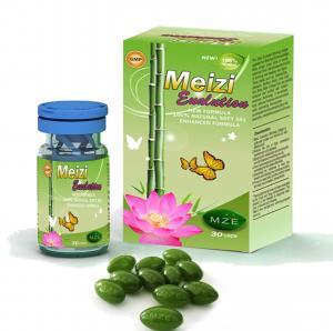 China OEM Botanical Slimming Capsules Women Slim Fast Diet Pills Meizi Evolution Botanical Slimming Soft Gel Capsules on sale