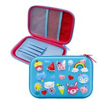 China Lovely Animal Multi Functional Hard Case Pencil Case , Custom Eva Case on sale