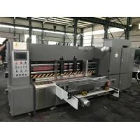 Quality Auto Rotary Die Cutting Machine For 3/5/7 Corrugated Cardboard , Long Life wholesale