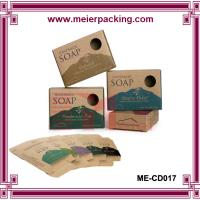 China Custom Recycle Paper Cheap Kraft Wholesale Soap Packaging Box ME-CD017 on sale