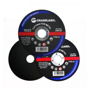 Quality Grassland OEM Inox 5 Inch 125*1.2*22 Abrasive Cutting Discs wholesale