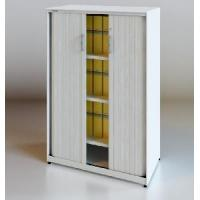 China Roller Shutter Door Cabinet with Round Edge on sale