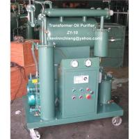 Quality Transformer Oil Purifier Machine, Single-stage Insulating Oil Purifier, Oil Recycling Systems wholesale
