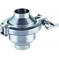 Buy cheap 3A 2 Inch 3 Inch Stainless Steel Welding Sanitary Check Valve Forging Ss304 from wholesalers