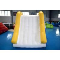 Quality Professional Made Inflatable Water Slide With 0.9mm PVC Tarpaulin wholesale