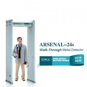 Buy cheap Indoor access control Walk Through metal detector door Body Scaner from wholesalers