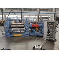 Quality Indsutrial Rubber Mixing Mill Machine 37kw Motor Driving Two Chilled Cast Iron Roll wholesale