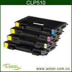 Quality Color Toner Cartridge Samsung Clp-510d7k 510d5c/M/Y wholesale
