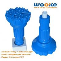 Quality DTH Drilling Rig Tools High Air Pressure Rock Drill DTH Hammer Button Bits wholesale