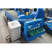 Quality Hydraulic Shearing Glazed Corrugated Sheet Roll Forming Machine PLC Control wholesale