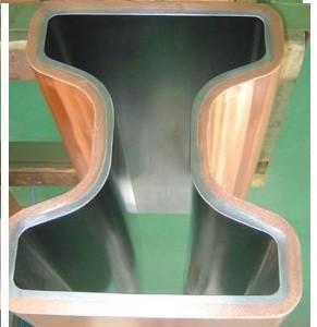 China SF-Cu (DHP Cu) Multi - Tapered Caster Copper Mould Tube For CCM Cu-Cr-Zr CuAg CCM on sale