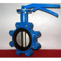 Quality Ductile Iron Centerline Butterfly Valves Lug Style Pneumatic Operated ANSI 150 wholesale