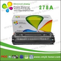 China CE278A HP Black Toner Cartridge / Compatible HP LaserJet P1566 1606 on sale