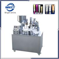 Quality Semi Automatic/Toothpaste/ Soft cream Plastic Tube Filling Sealing Machine with SS316L wholesale