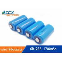 Quality CR123A 3.0V 1700mAh camera battery wholesale
