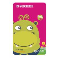 Quality Plastic RFID Student Bus Travel Card with QR Code and New Printing wholesale
