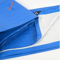 Quality High quality roofing cover/waterproof blue white plastic sheet pe tarpaulin cover withe cheap price wholesale