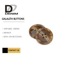 China Polyester Sew - On Galalith Buttons 4 Hole Button & Accessories on sale