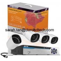 Quality 4CH 1080P Wireless PLC IP Cameras NVR Security System, Plug and Play wholesale
