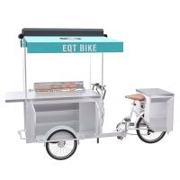 Quality High Temperature Resistant BBQ Food Bike Easy Cleaning With Large Storage wholesale
