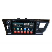 Quality Touch Screen Toyota 2014 Corolla GPS Navigation / DVD Player with iPod BT SWC TV wholesale