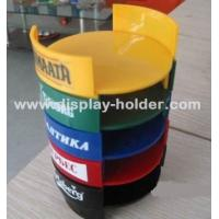 Quality Colorful Acrylic Plastic Wine Coaster Holder wholesale